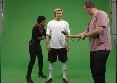 David Beckham Green Screen