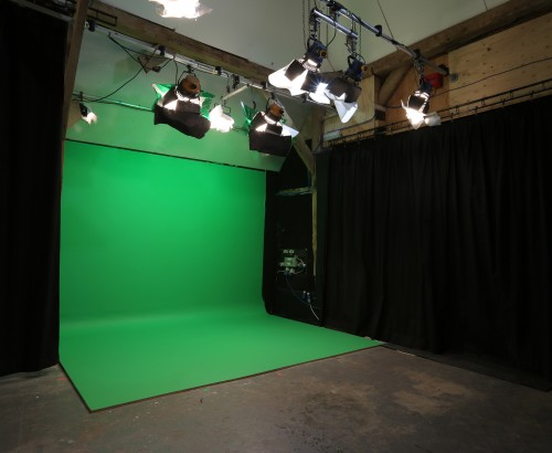full-length greenscreen